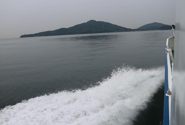 粟島へ 29.6.27