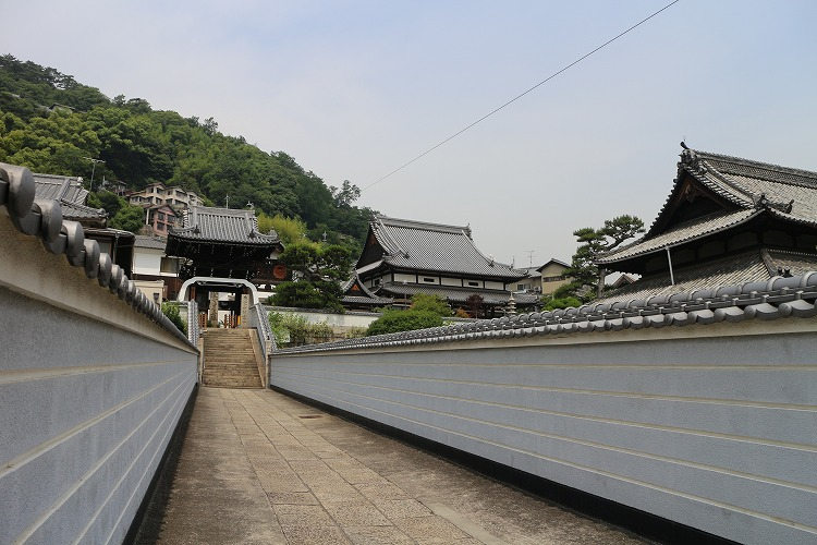 尾道 お寺と坂道がいっぱい 29.6.20