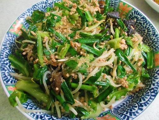 170625-225挽肉野菜と春雨の炒め完成(S)