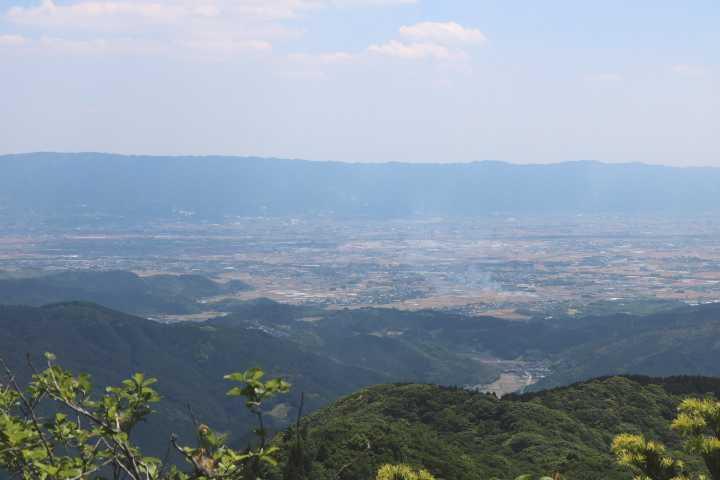 IMG1983JPG朝倉平野と耳納連山
