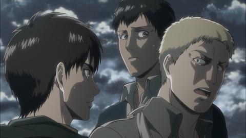進撃の巨人 Season2 第31話 戦士 アニメ実況 感想 画像