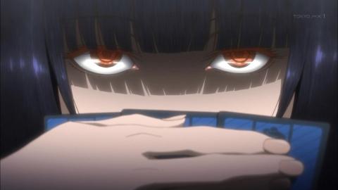 賭ケグルイ 第1話 蛇喰夢子という女 アニメ実況 感想 画像
