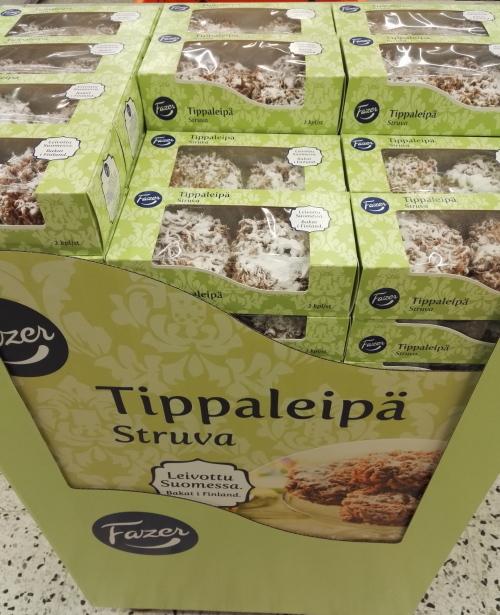 フィンランド Vappu Tippaleipä Fazer