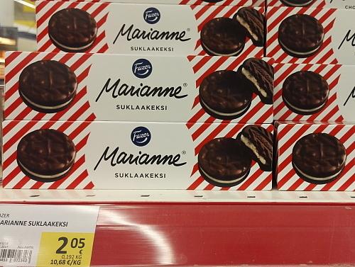 フィンランド Fazer クッキー Marianne マリアンネ