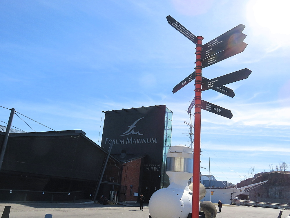フィンランド トゥルク フォーラム・マリナム海洋センター