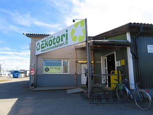 フィンランド トゥルク エコマーケット Turku Ekotori