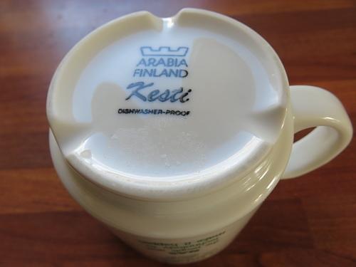 フィンランド トゥルク エコマーケット Turku Ekotori アラビアマグカップ