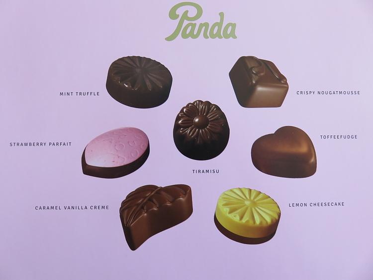 フィンランド パンダ社 Panda チョコレートボックス デザートチョコ