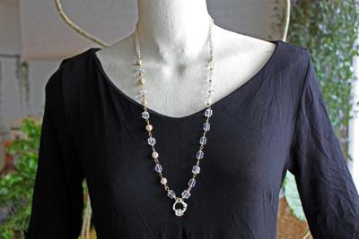 水晶ブレス1