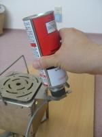ポリhotガス缶取り付け11