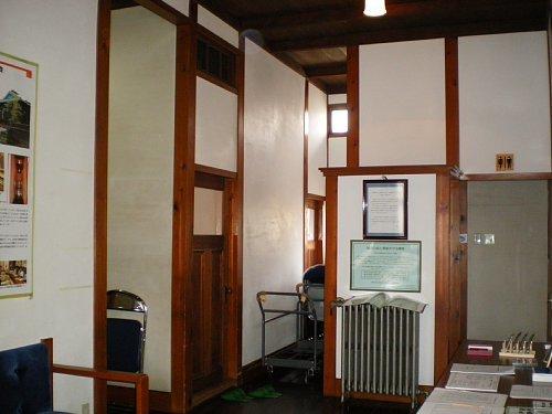 旧後藤医院・待合室1
