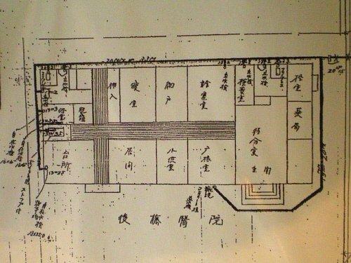 旧後藤医院・平面図
