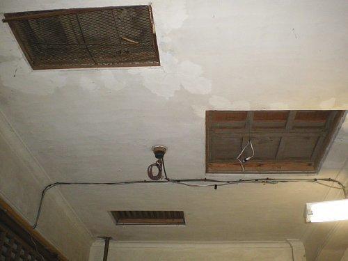 日野桑園第一蚕室・天井