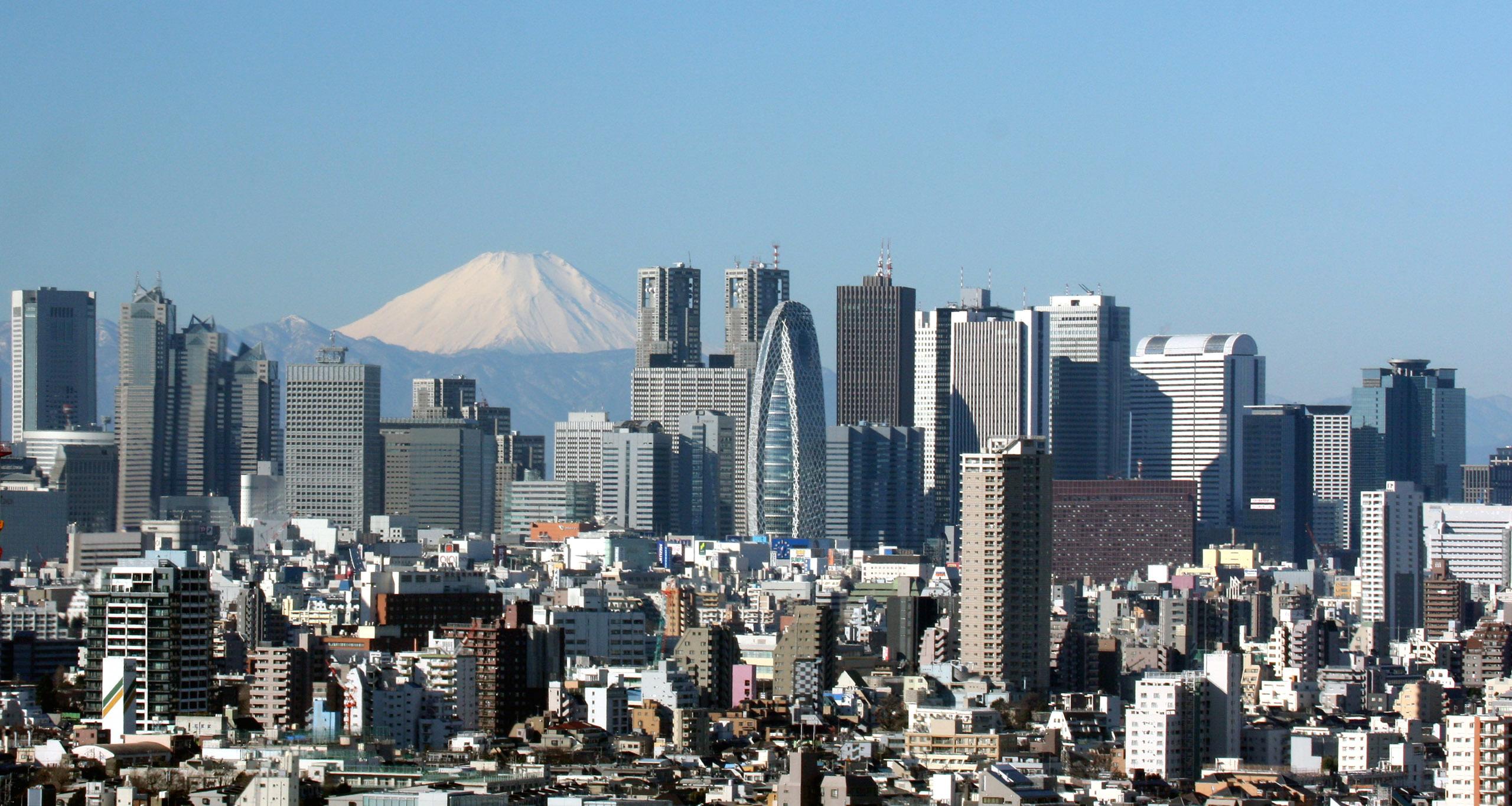 新宿高層ビル群1