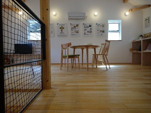 無添加住宅の松江 モデル 廊下