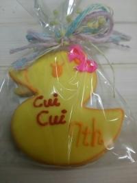 7周年記念クッキー