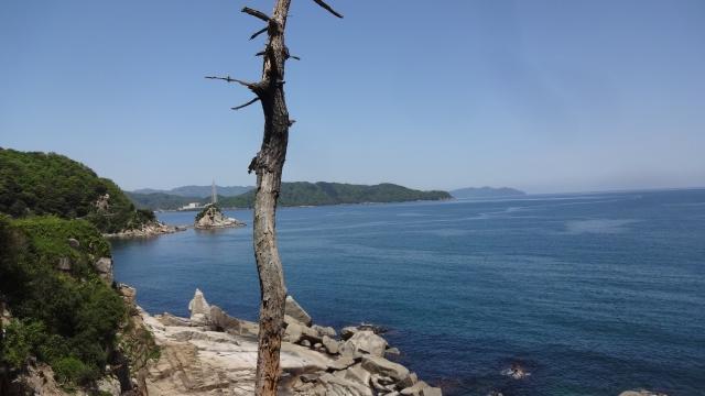 丹後の海岸線