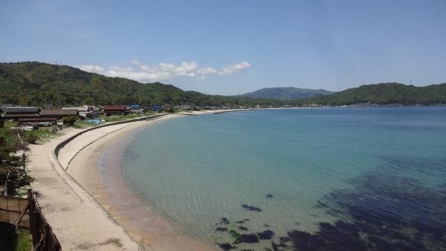 宮津の海岸