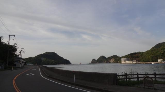 香美町柴山の海岸
