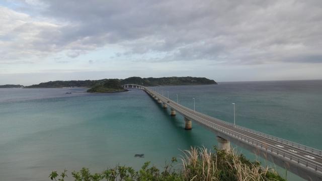 角島大橋に到着
