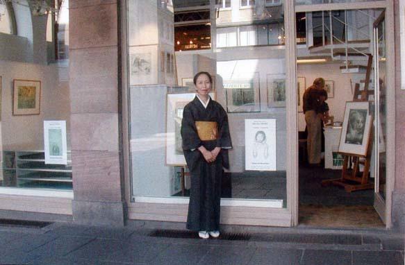 ⑨ストラスブール「ギャラリーノルドエストで」2003年9月