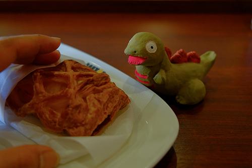 安田からアップルパイを貰えそうな予感の、シン・ゴジラ第二形態、蒲田くん