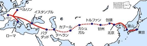 鉄道省鉄道監察官湯本昇の中央アジア横断鉄道構想