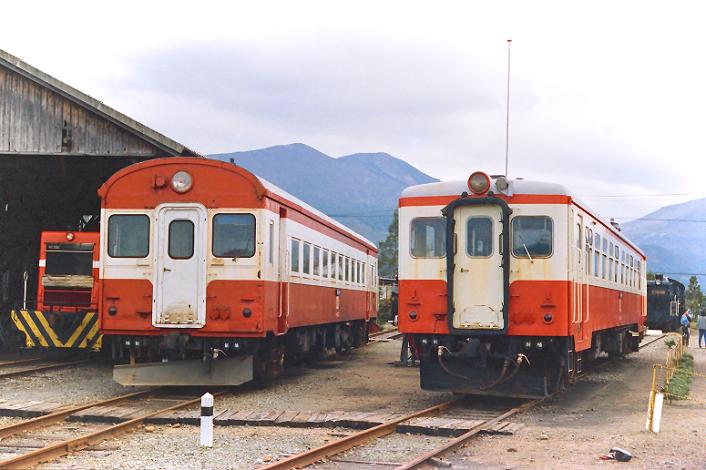 850328 加悦駅 キハ08とキハ10