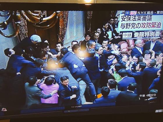 SEALDs パヨク 共謀罪 韓国 民主主義 人治主義 野党