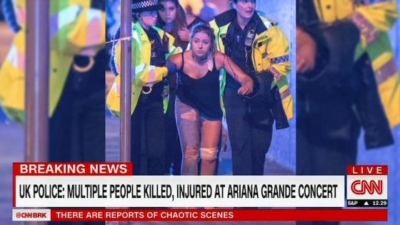 アリアナ・グランデ イギリス マンチェスター 爆弾テロ
