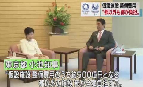 小池知事 東京五輪 仮設施設 費用