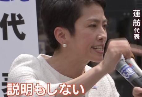 東京都議会選 民進党 蓮舫 悪口 ブーメラン 批判 無政策 ワンパターン