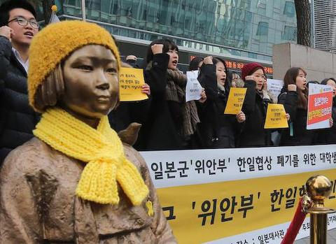 慰安婦像 韓国 国宝 挺対協 追軍売春婦 ウリジナル ウイーン条約