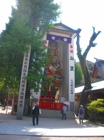 20170511 櫛田神社の山車1