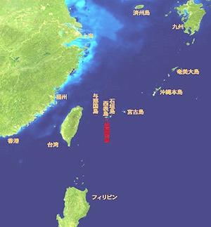 波照間島周辺図