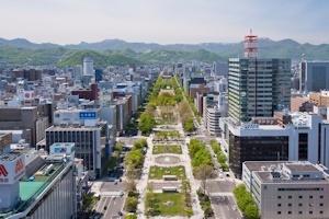 札幌大通公園周辺
