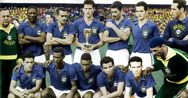 Copa do Mundo 1958, final Brasil 5x2 Suécia