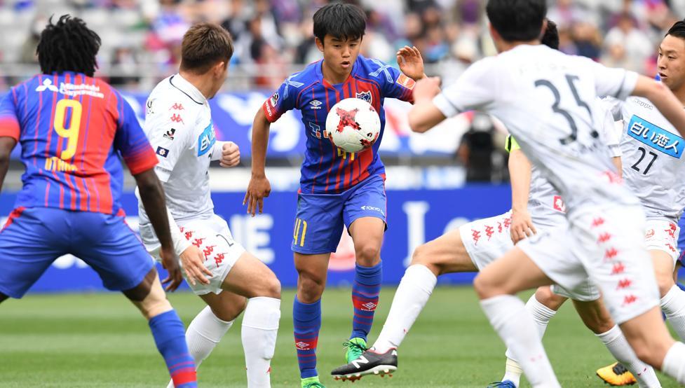 El ex culé Take Kubo debuta con el FC Tokyo con solo 15 años