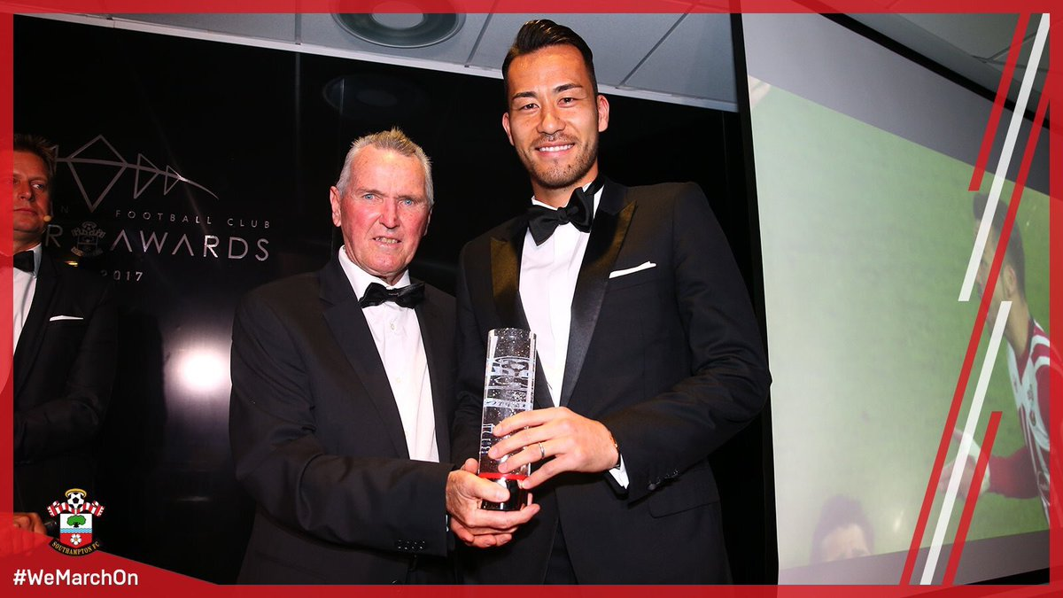 For his 2016_17 Presidents Choice Award, Southampton FC legend Terry Paine has chosen Maya Yoshida!