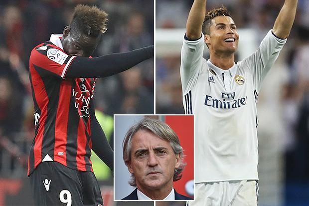 Roberto Mancini reveals why Mario Balotelli isnt as good as Ronaldo