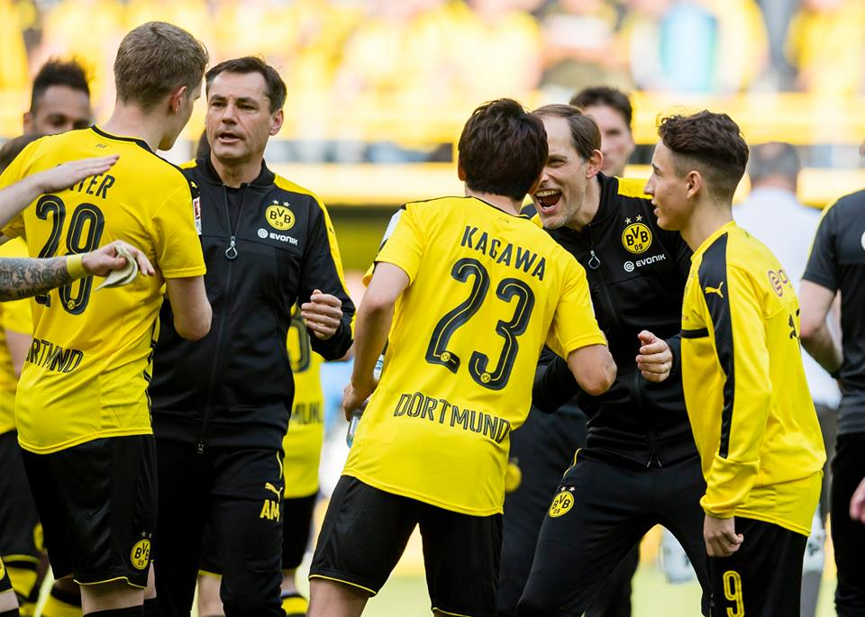 THATS IT! 2_1 HOME WIN!Borussia climb to 3rd in the table! BVB 2_1 Hoffenheim kagawa