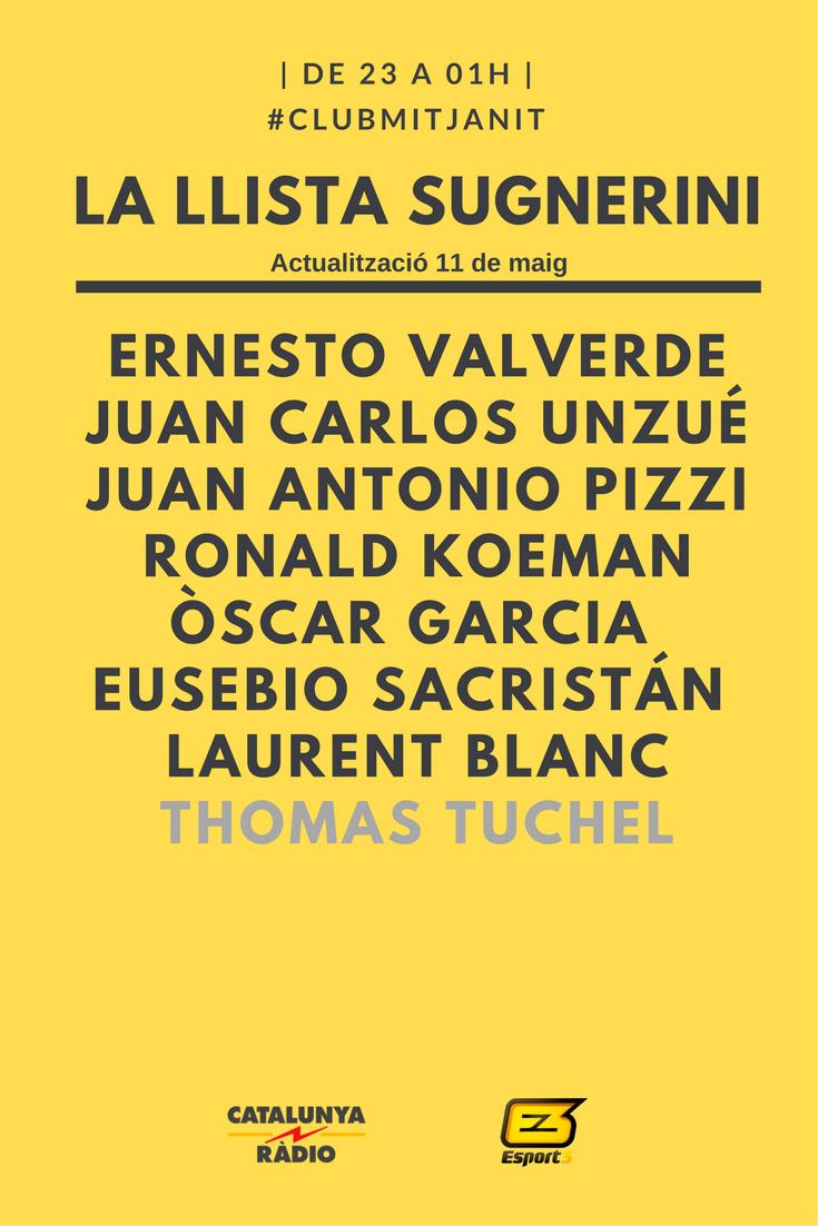 Tuchel candidat pel Barça