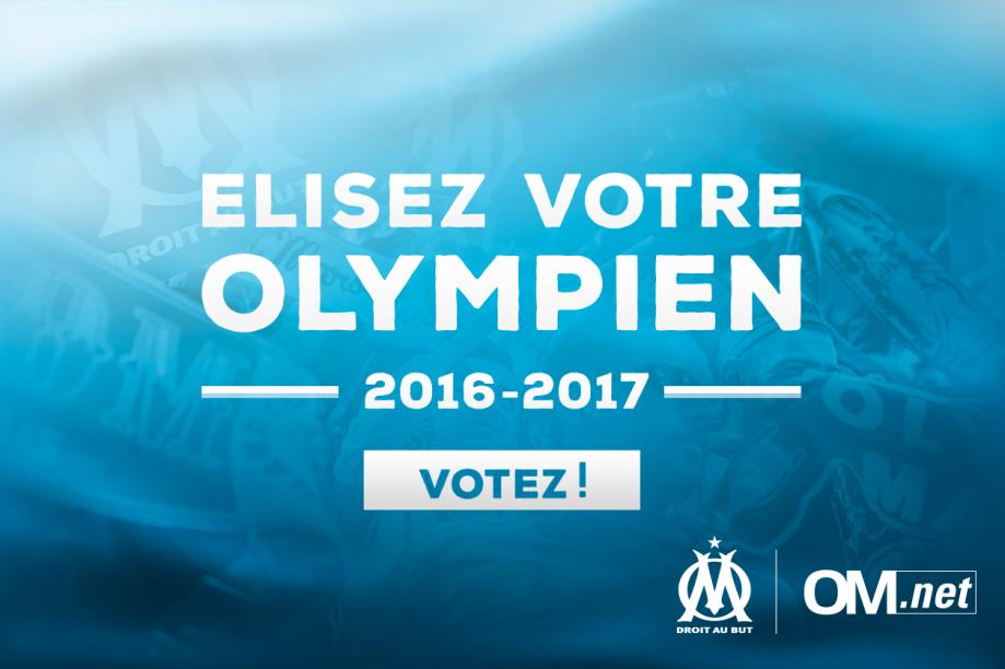 Élisez l'Olympien de la saison 2016-17