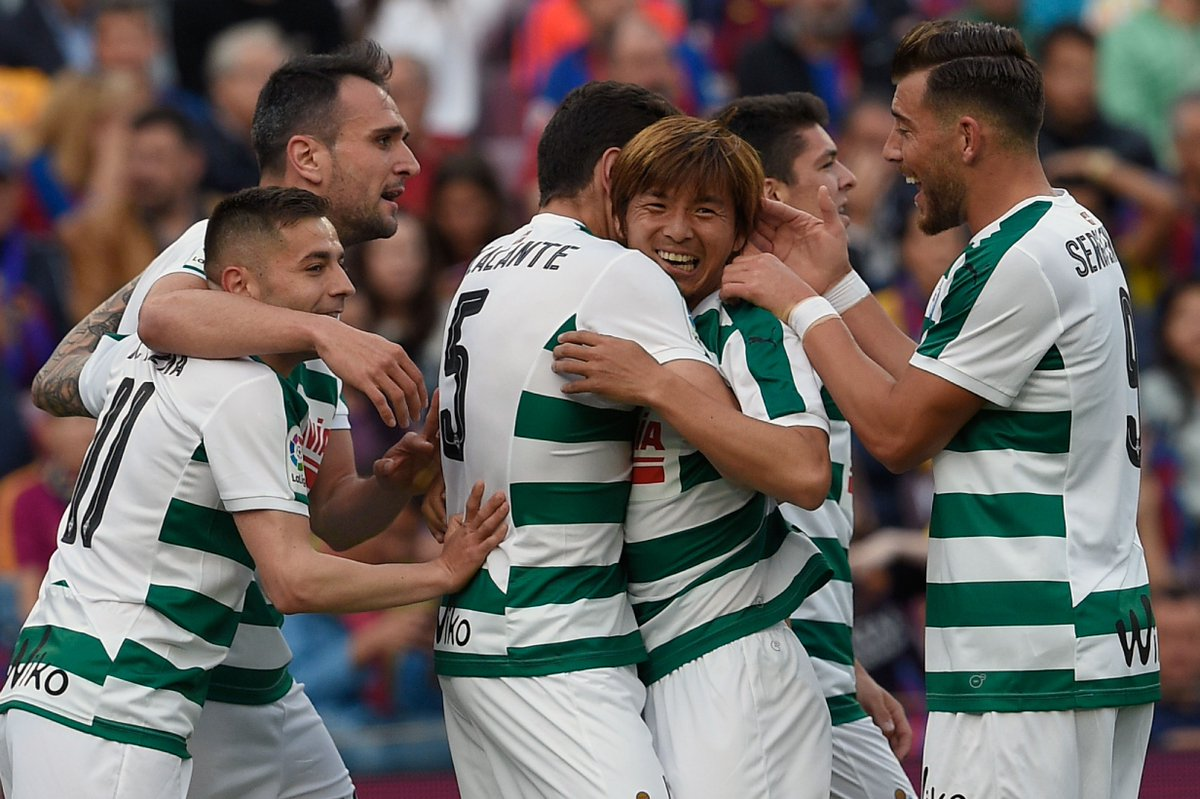 Japan international Inui makes history with Barcelona goal