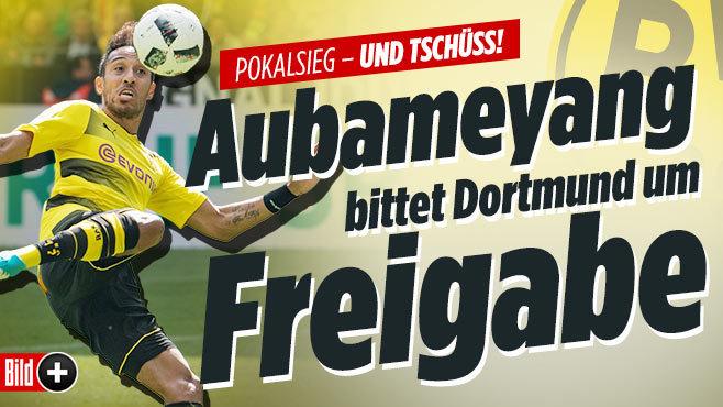 Aubameyang verlässt nach der Saison Borussia Dortmund