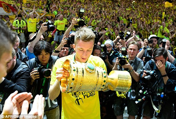 Marco Reus finally got the title 2017