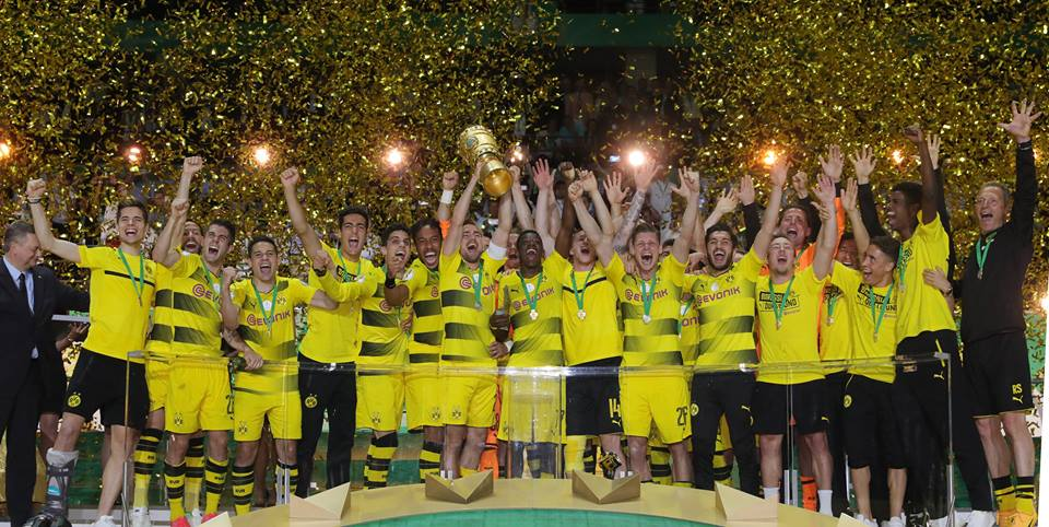 Were the 2017 DFB CUP WINNERS!Frankfurt 1_2 BVB