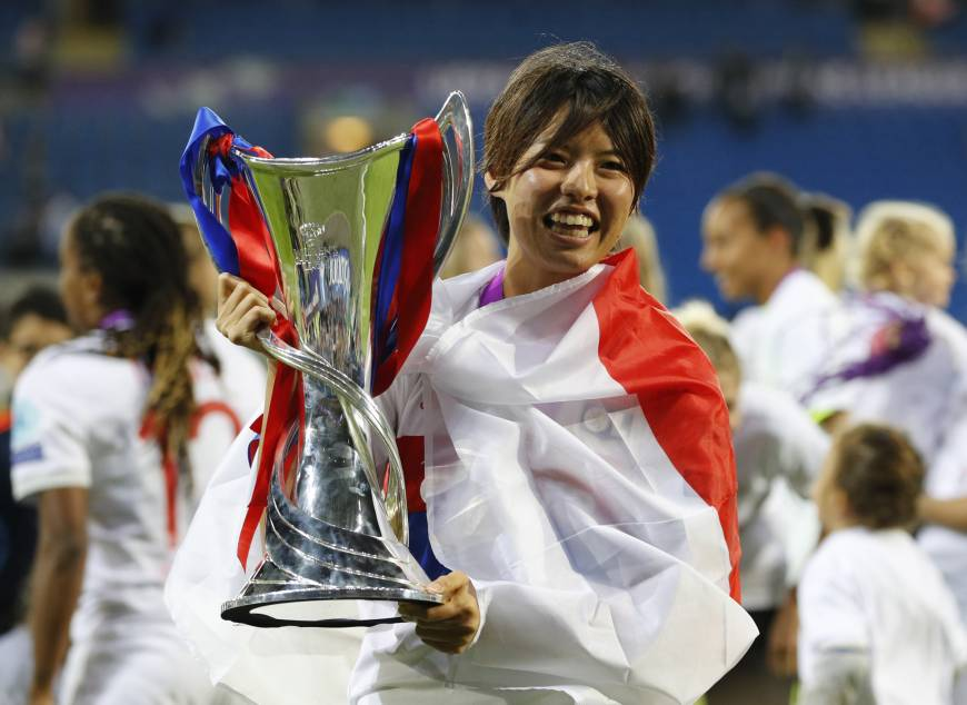 Kumagai helps Olympique Lyonnais capture consecutive Champions League titles