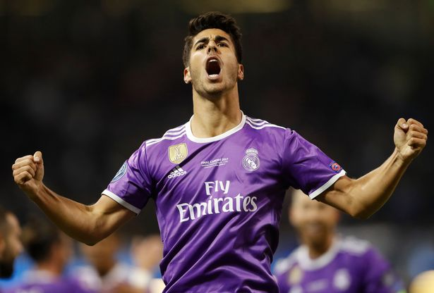 Real-Madrids-Marco-Asensio-celebrates-scoring-their-fourth-goal The youngster celebrates his goal