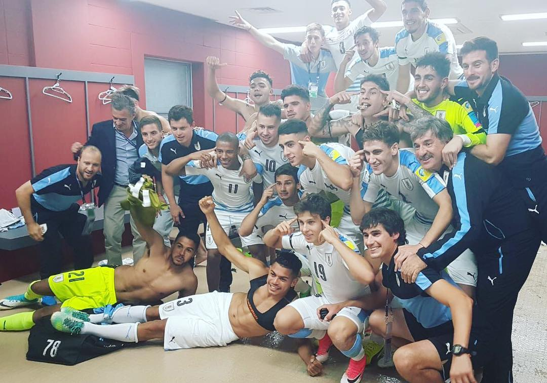 U20 Uruguay Valverdes racist celebration 2017
